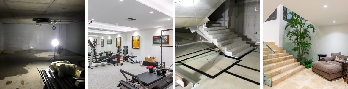 Repairing a Leaking Basement in a Luxury Waterfront Home